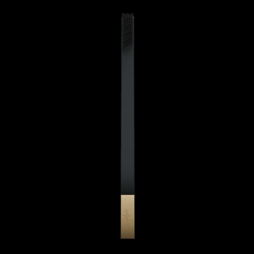 SLIM by Apriori black & gold designer toothbrush
