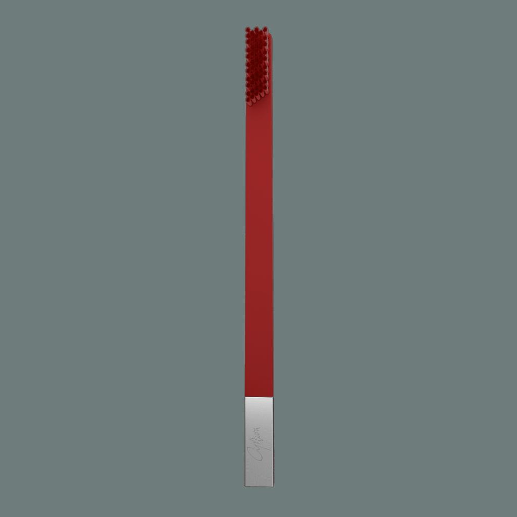 SLIM Carmine Red Silver MEDIUM 1