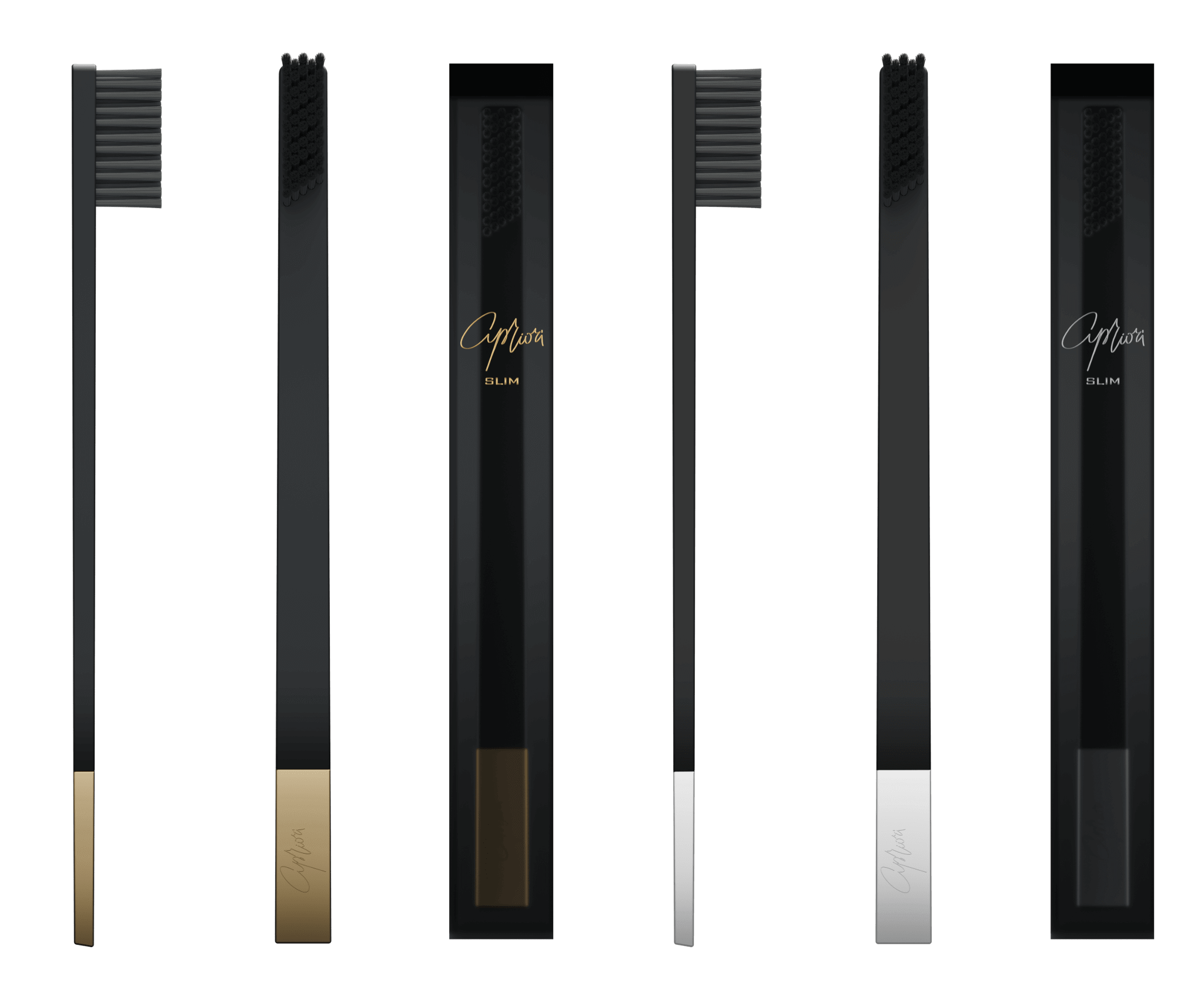 SLIM by Apriori disposable toothbrushes